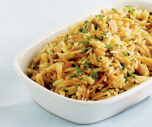 Orzo with Brown Butter and Parmesan - Recipe - FineCooking