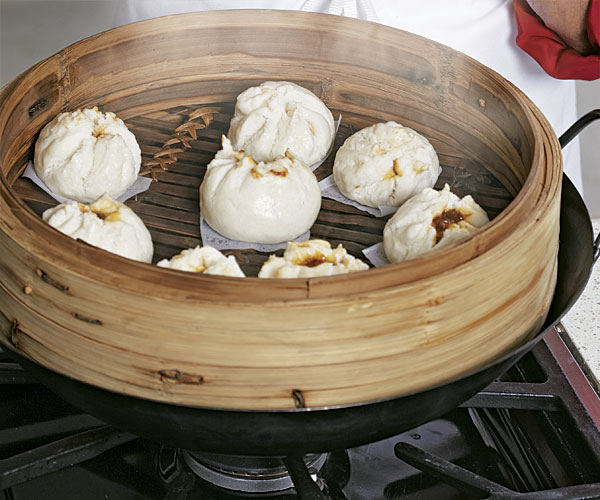 steamed pork buns recipe finecooking. Black Bedroom Furniture Sets. Home Design Ideas