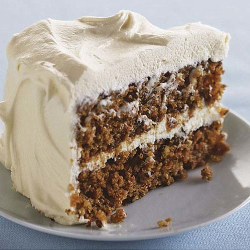 Classic Carrot Layer Cake With Vanilla Cream Cheese