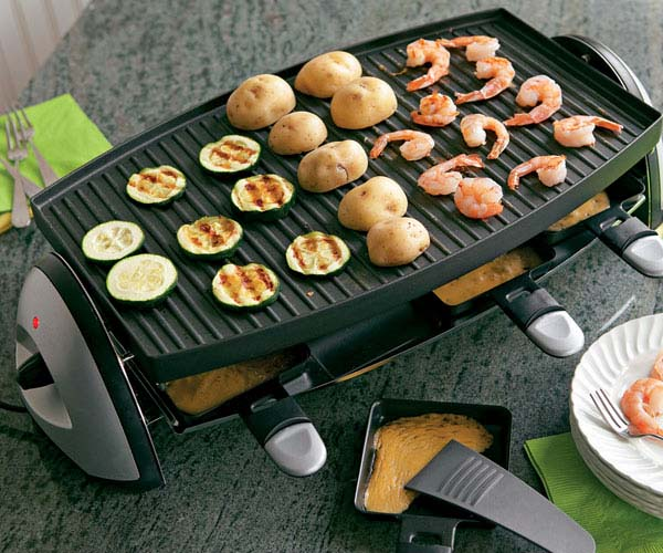raclette party grill finecooking