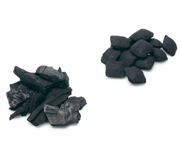 Hardwood Charcoal Briquettes ~ Hardwood charcoal vs briquettes finecooking
