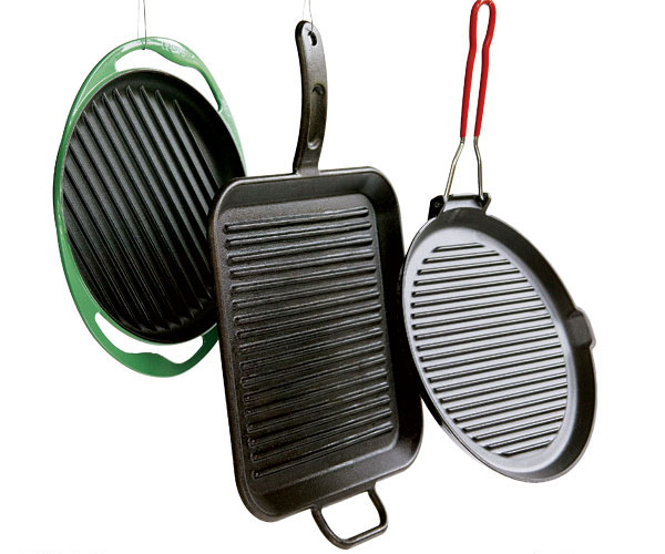 these three grill pans listed in order stood out as our favorites among the thirteen tested all are made of cast iron and all have - Staub Grill Pan