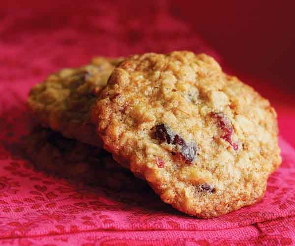 Oatmeal Cranberry Chocolate Chip Walnut Cookies