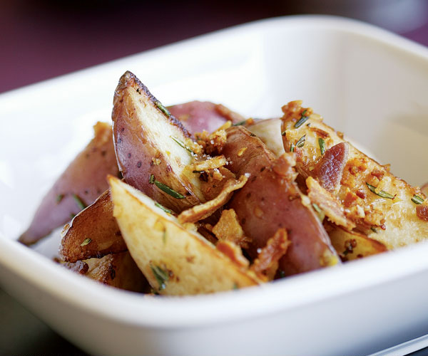 Pan Fried Red Potatoes With Pancetta Rosemary