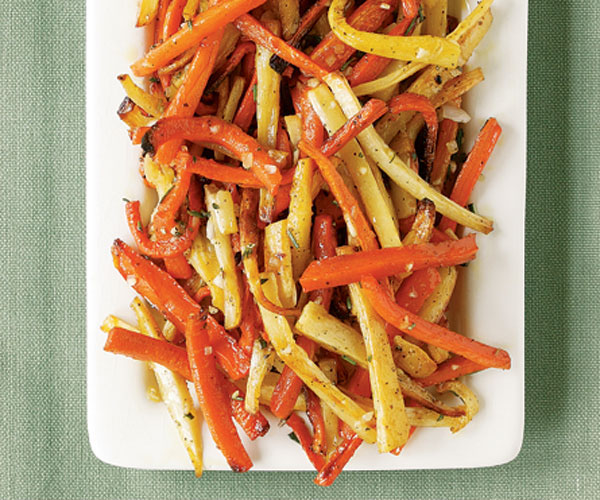 recipe: roasted parsnips and carrots with maple syrup [29]