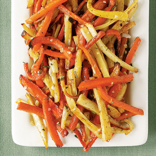 Zesty Roasted Vegetable Combinations Finecooking