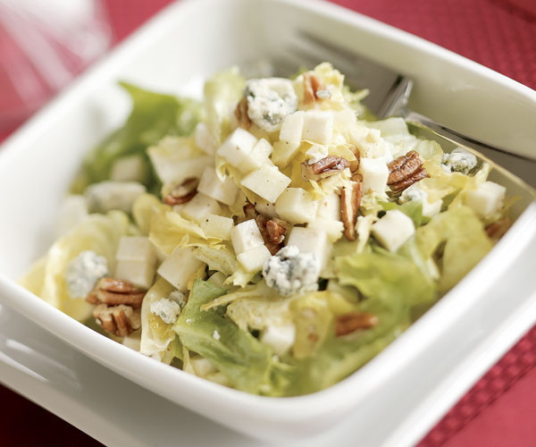 Escarole with Green Apple, Celery Root, Toasted Pecans ...