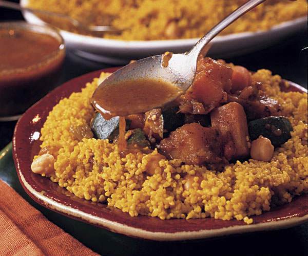 Couscous with lamb vegetables recipe finecooking for Couscous food recipe