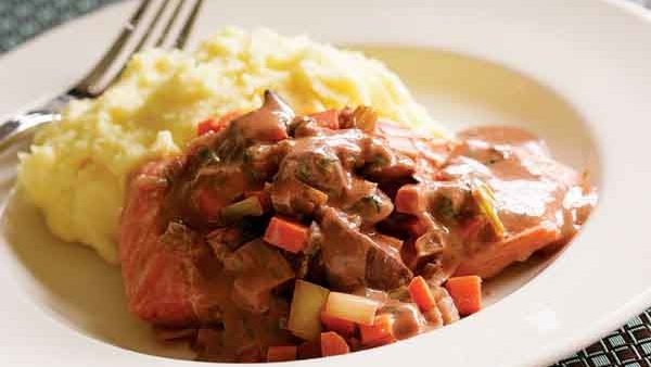 Wine-Braised Chicken with Shallots and Pancetta - Recipe ...