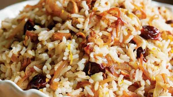 Southwestern Rice Pilaf - Recipe - FineCooking