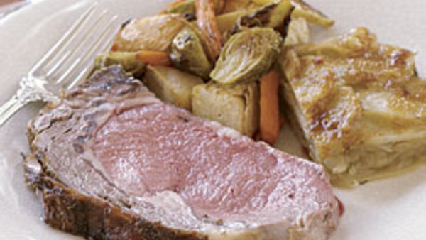 Slow-Roasted Prime Rib Recipe - Recipe - FineCooking