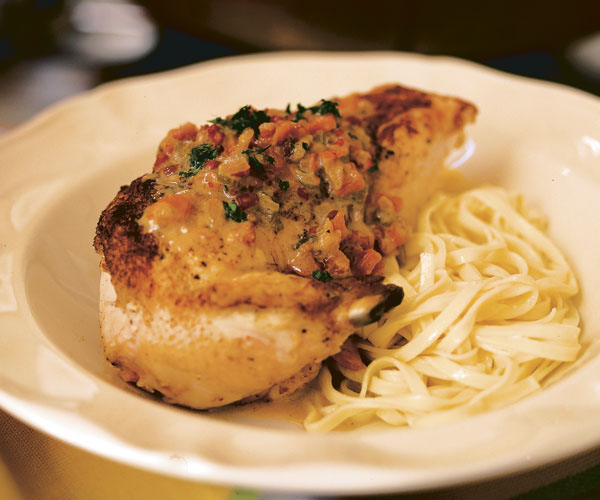 Classic French Chicken In White Wine Sauce FineCooking