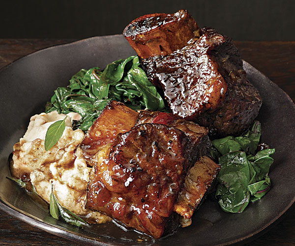 Spicy Slow Cooked Short Ribs With Lime Amp Basil Recipe