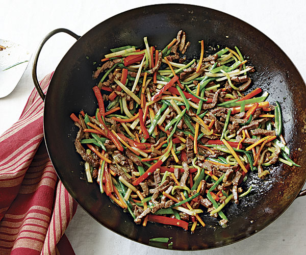 Stir fried beef with mixed vegetables recipe finecooking stir fried beef with mixed vegetables forumfinder Images