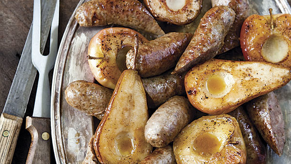 how to cook sweet italian sausage in the oven