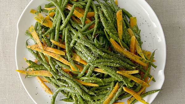 Green Beans and Carrots in Charmoula Sauce - Recipe ...