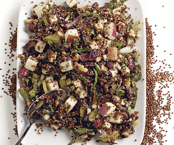 Salad recipes with cranberries and apples