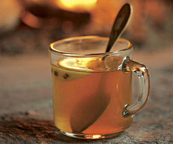 Bourbon hot toddy recipe finecooking for Hot toddy drink recipe