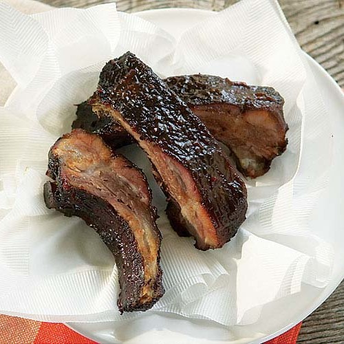 Hoisin Barbecued Ribs (Gas Grill Version) - FineCooking