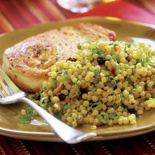 Israeli Couscous with Saffron, Toasted Pine Nuts ...