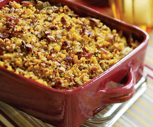 Cornbread & Sausage Stuffing - Recipe - FineCooking