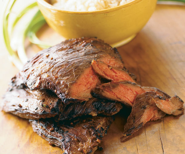 Korean-Style Marinated Skirt Steak