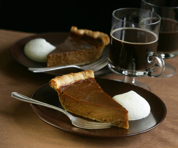 Muscovado Pumpkin Pie - Recipe - FineCooking