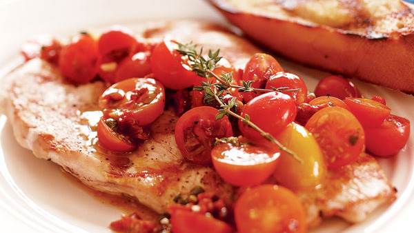Herbed Grilled Chicken Breasts Recipe - Recipe - FineCooking