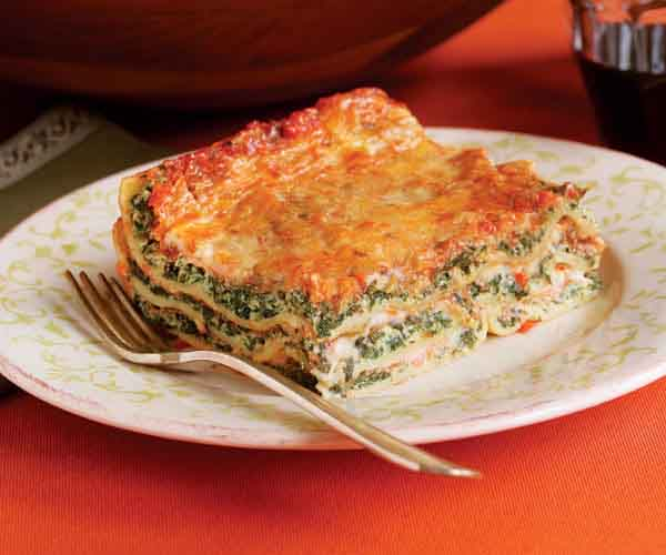 Spinach & Ricotta Lasagne - Recipe - FineCooking