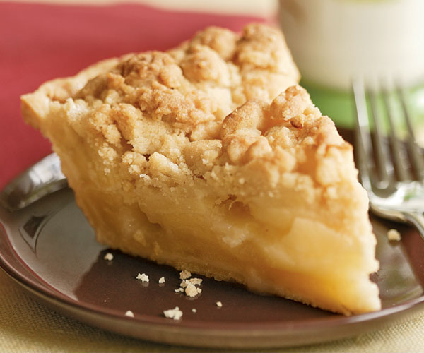 Ginger Apple Crumb Pie - Recipe - FineCooking