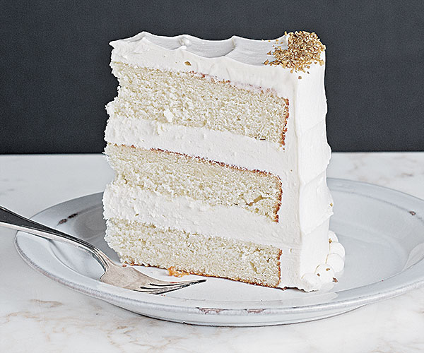 Simple Vanilla Cake With Egg: Very Vanilla Layer Cake