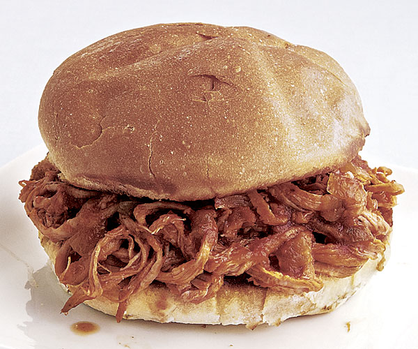 Slow Cooker Pulled-Pork Sandwiches - FineCooking