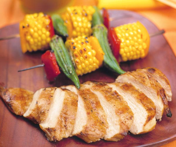 Grilled coffee brined chicken breasts finecooking grilled coffee brined chicken breasts ccuart Choice Image