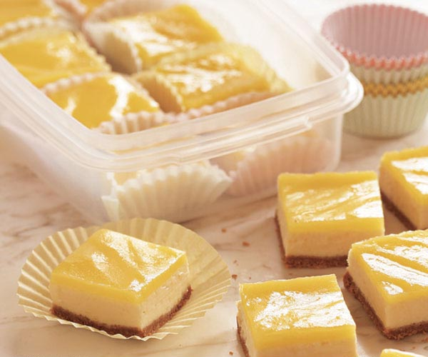 Lemon Cheesecake Squares Recipe Finecooking