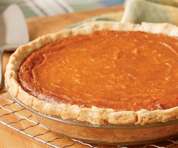 Pumpkin, Sweet Potato & Coconut Pie - Recipe - FineCooking
