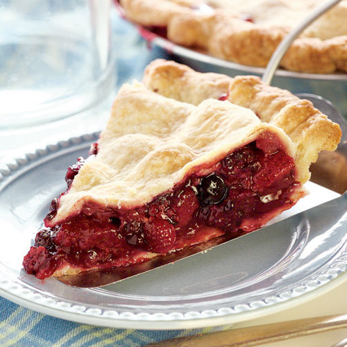 recipe double crust jumble berry pie you can make this pie with only ...