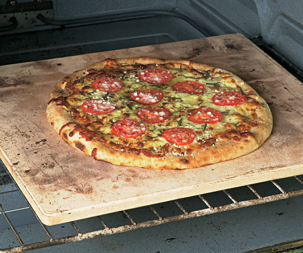 Pizza Baking Stone : Bake crisper pizza and bread with a baking stone finecooking