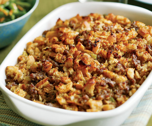 Italian Bread Amp Sausage Stuffing Recipe Finecooking
