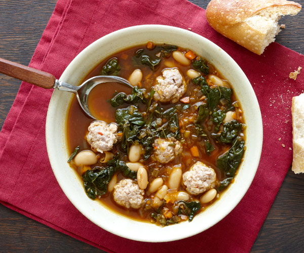 kale and cannellini bean soup recipe