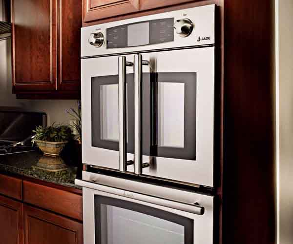 French Door Oven ~ Easy access wall oven article finecooking