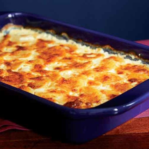 Three-Cheese Potato Gratin - FineCooking