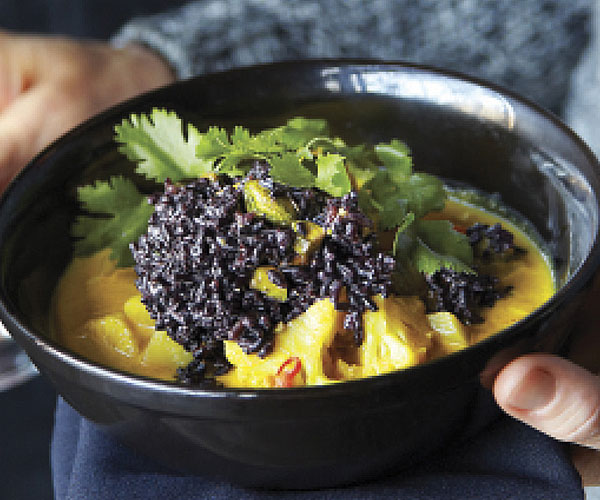 Curry and Black Rice