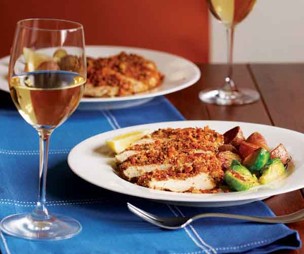 Crispy Chicken Breasts with Lemon & Capers - Recipe ...