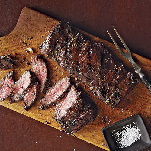 how to make skirt steak in a pan