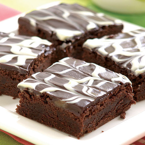 Peppermint Brownies - FineCooking