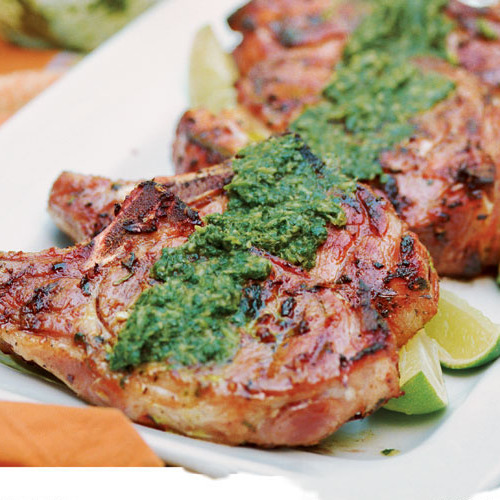 The Juiciest Grilled Pork Chops