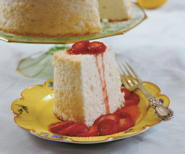 When it comes to angel food cake god is in the details finecooking properly whipped egg whites and two kinds of sugar make a high rising cake thats tender and light forumfinder Images
