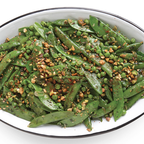 Recipes easy recipes menu ideas finecooking three pea saut with scallions and pistachios forumfinder Images