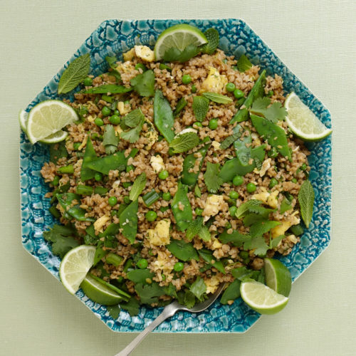 fried rice-style freekeh