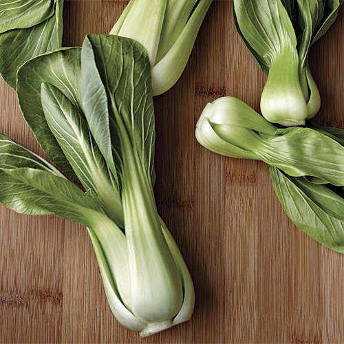 Baby Bok Choy with Warm Miso Ginger Dressing FineCooking
